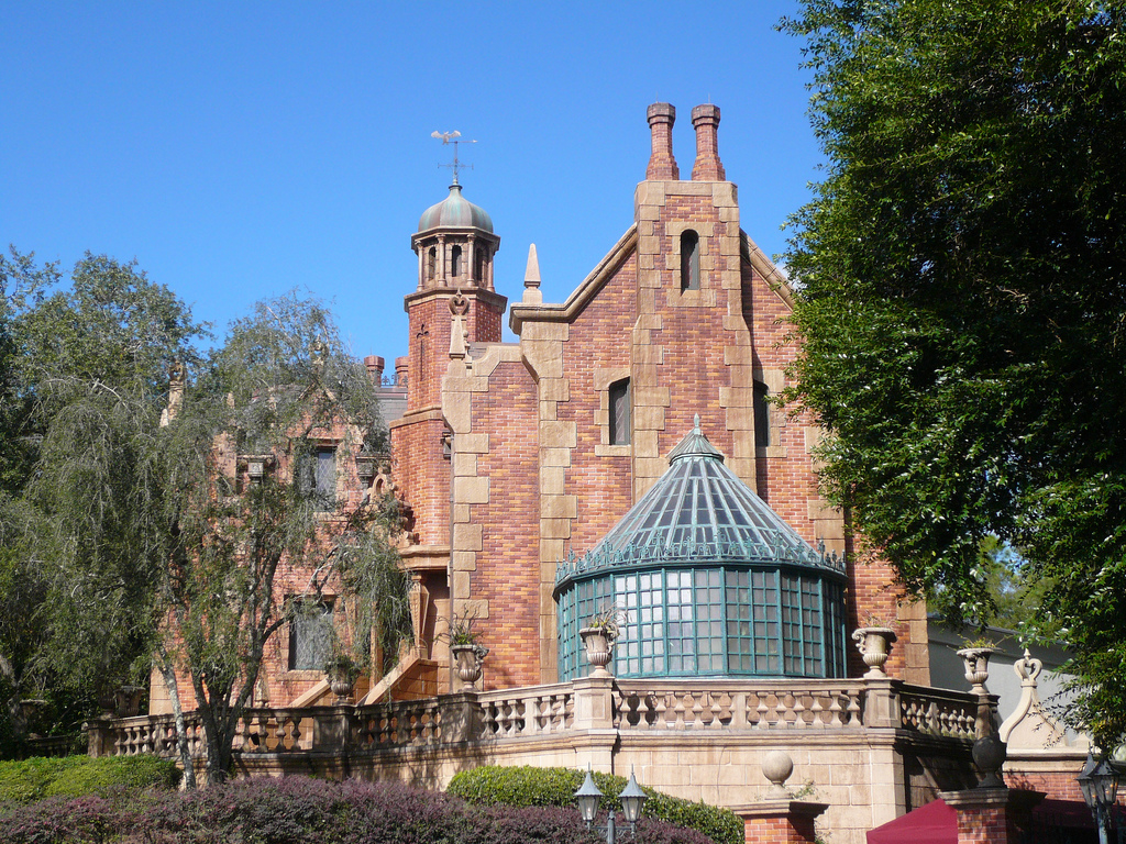 Haunted Mansion Attraction Magic Kingdom by mrkathika, on Flickr