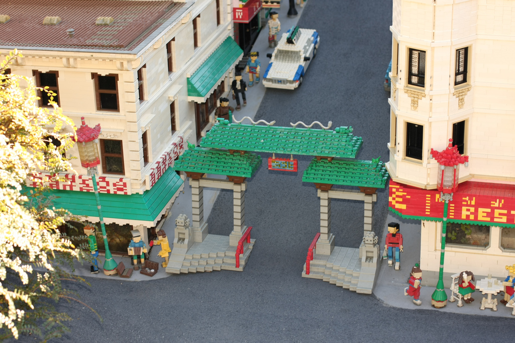 Lego San Francisco Chinatown by karmakazesal, on Flickr