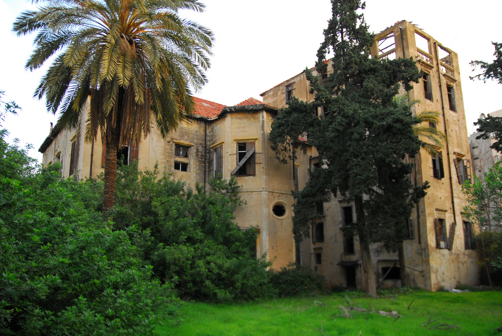 Abandoned Mansion - Beirut by craigfinlay, on Flickr
