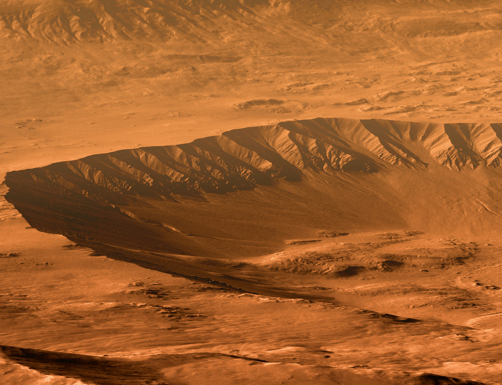 Gasa Crater - Mars by Kevin M. Gill, on Flickr