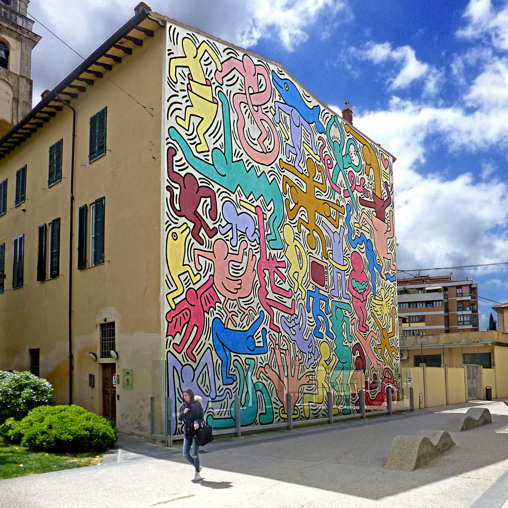 Pisa - Tuttomondo by Keith Haring by pom.angers, on Flickr