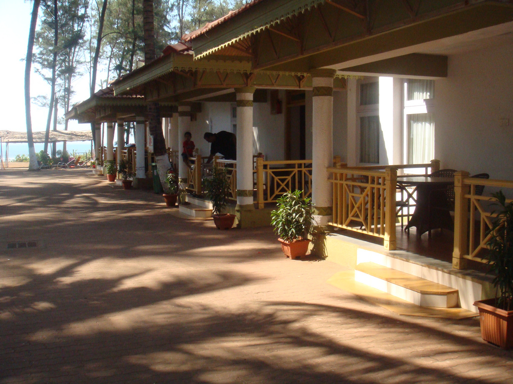 Cottages in Murud Golden Swan Beach Reso by Ankur P, on Flickr