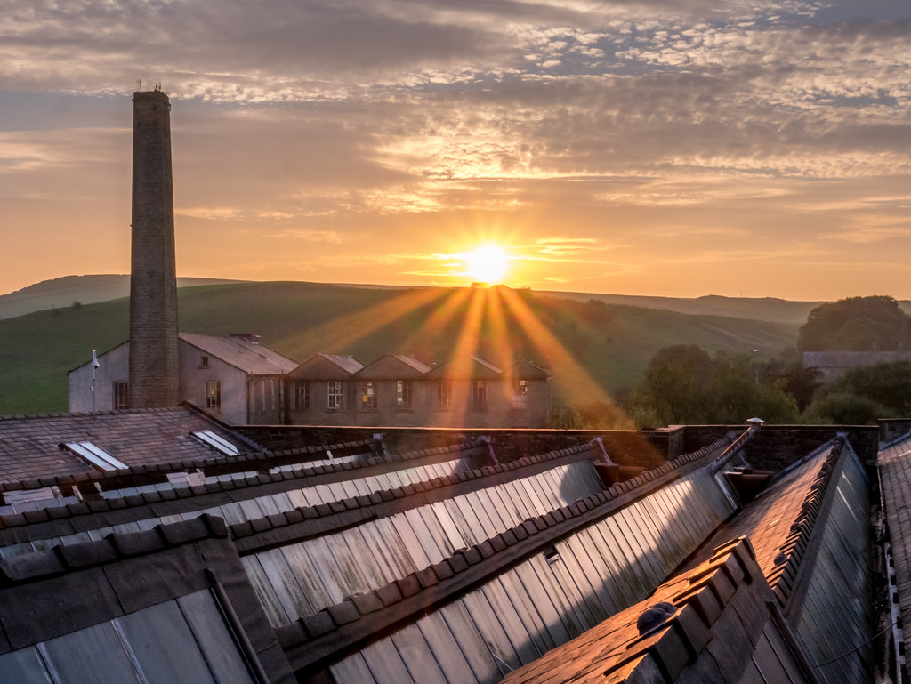 Haslingden Sunset by Matthew_Hartley, on Flickr