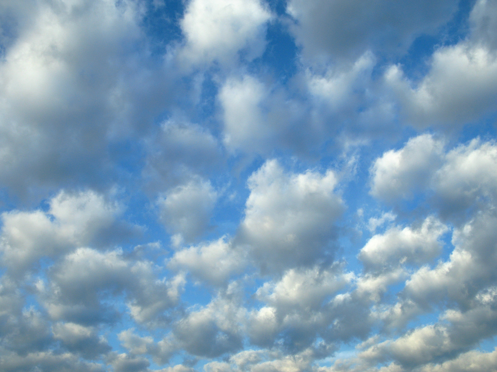 Little Fluffy Clouds by geoffeg, on Flickr