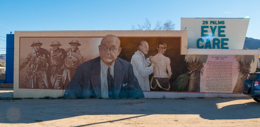 """Dr James B Luckie Mural - """"Father of 29 by jay galvin, on Flickr"""