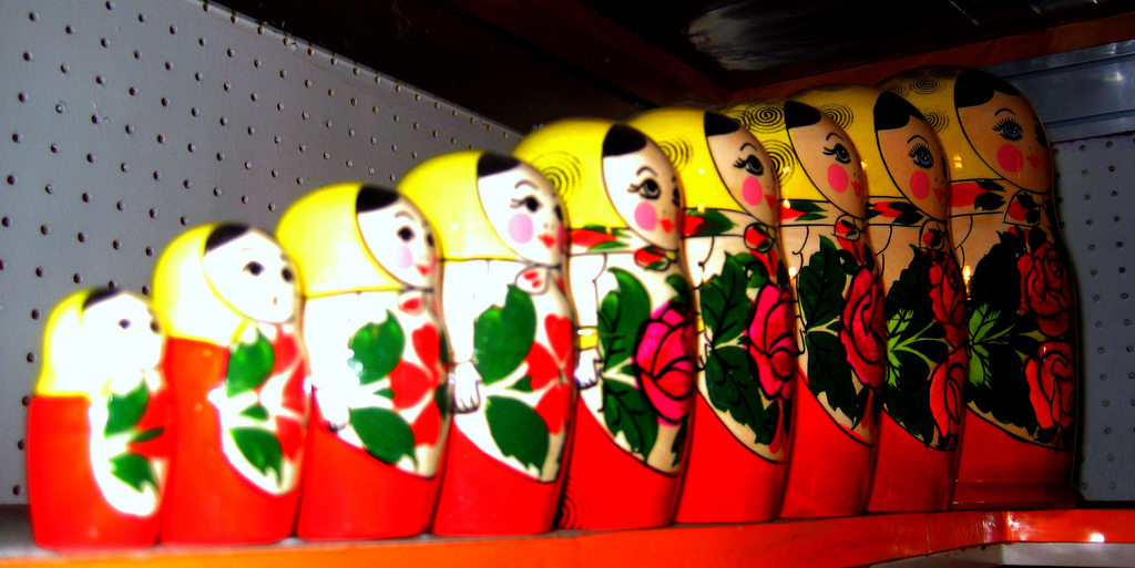Matryoshka doll / Russian Nesting Dolls by Cayetano, on Flickr