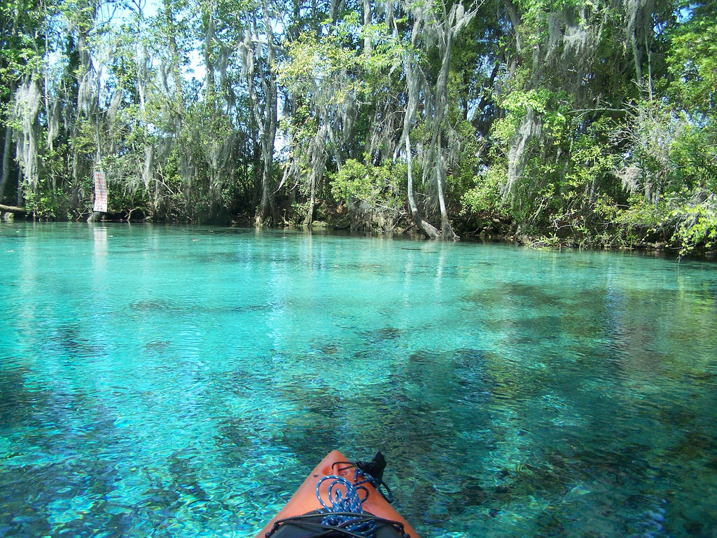 Three Sisters Springs (Citrus County, FL by systemslibrarian, on Flickr