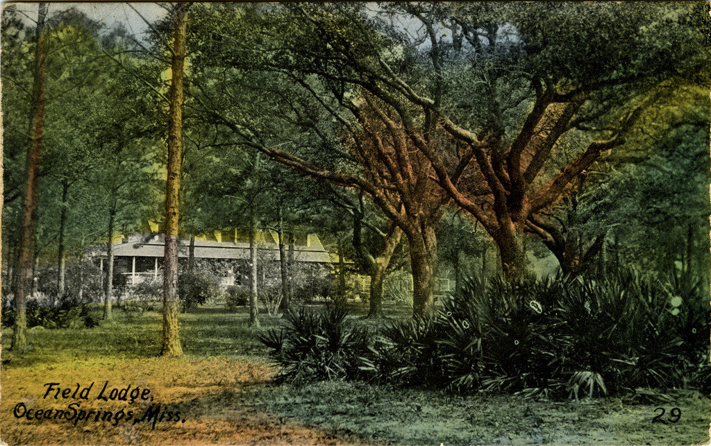 Field lodge, Ocean Springs, Miss. by Mississippi Department of Archives and History, on Flickr