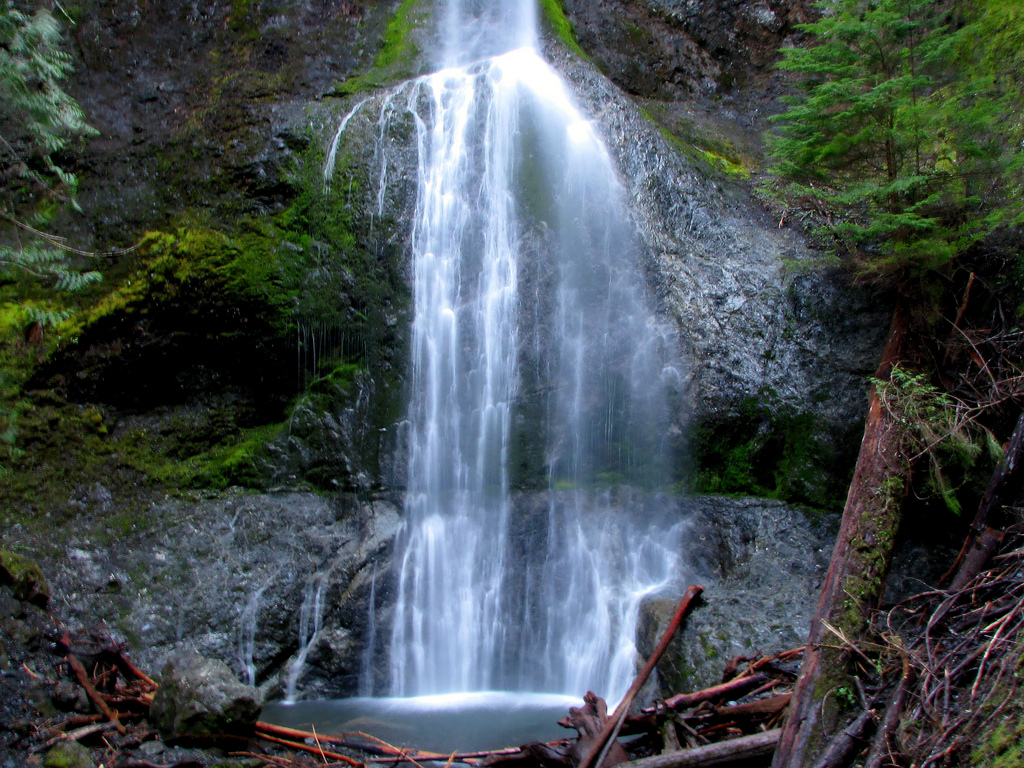 Marymere Falls, Olympic National Forest, by Ramanathan.Kathiresan, on Flickr