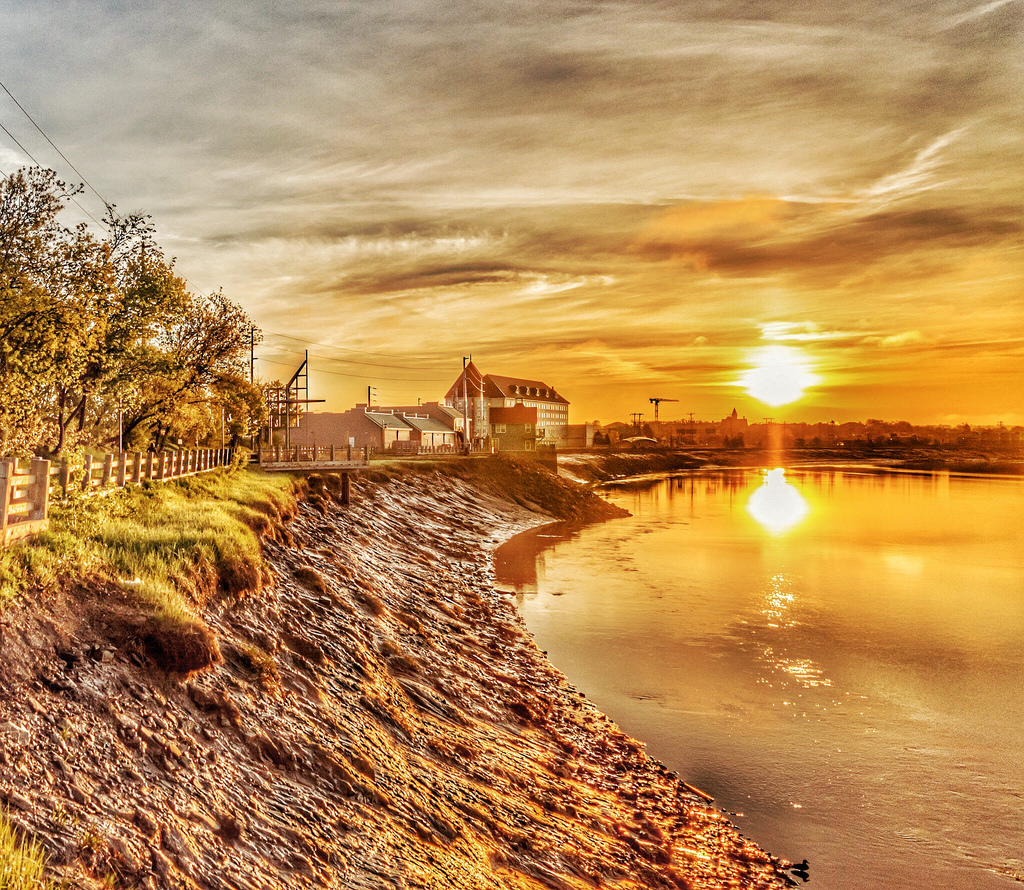 Sunrise Over The Petitcodiac River by James P. Mann, on Flickr