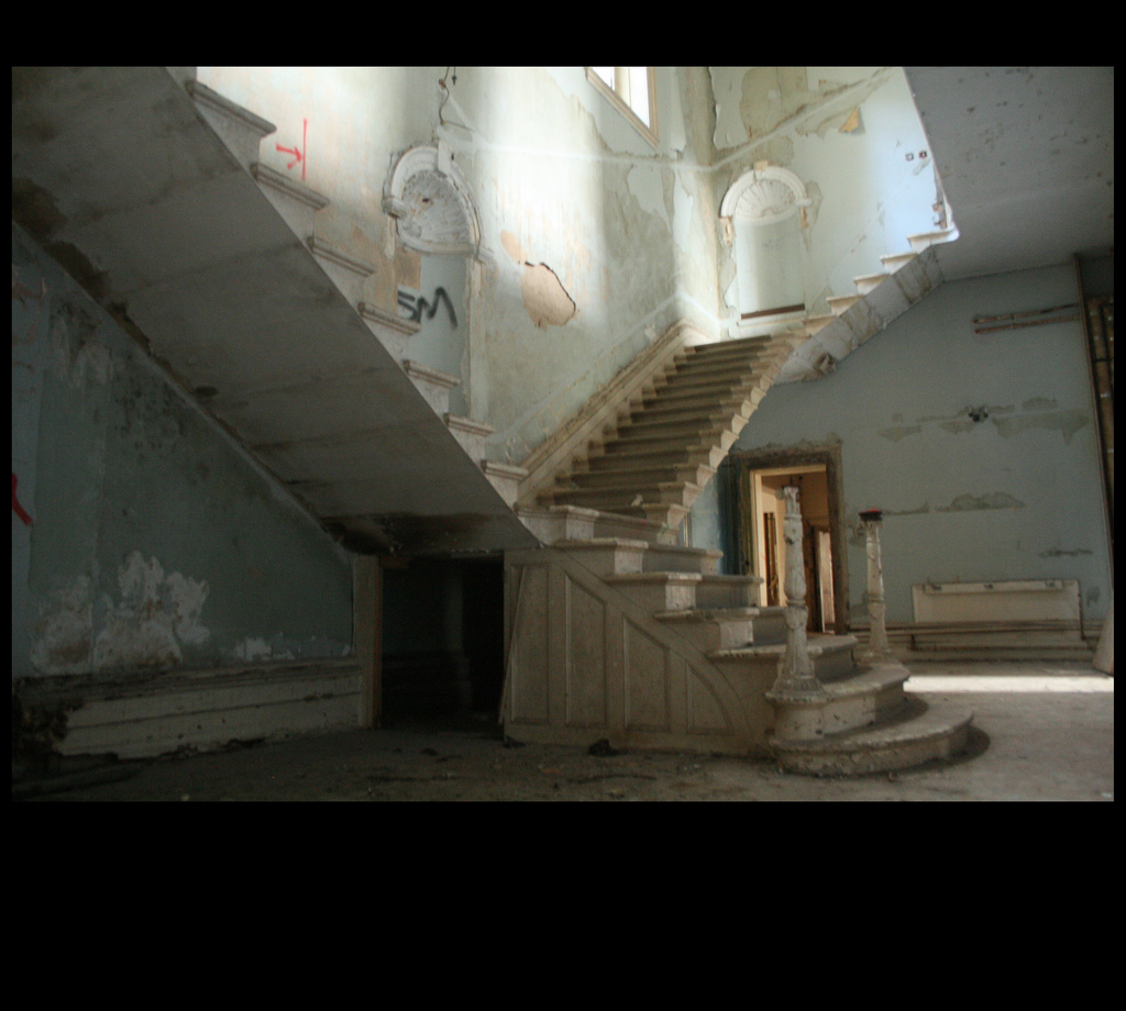 The famous staircase; St. John's Hospita by Lplatebigcheese, on Flickr