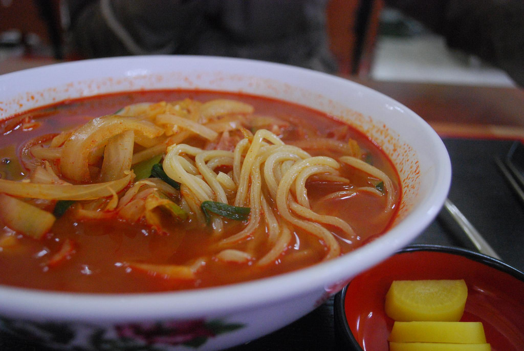 Jjampon with handmade noodles - Hello Co by avlxyz, on Flickr