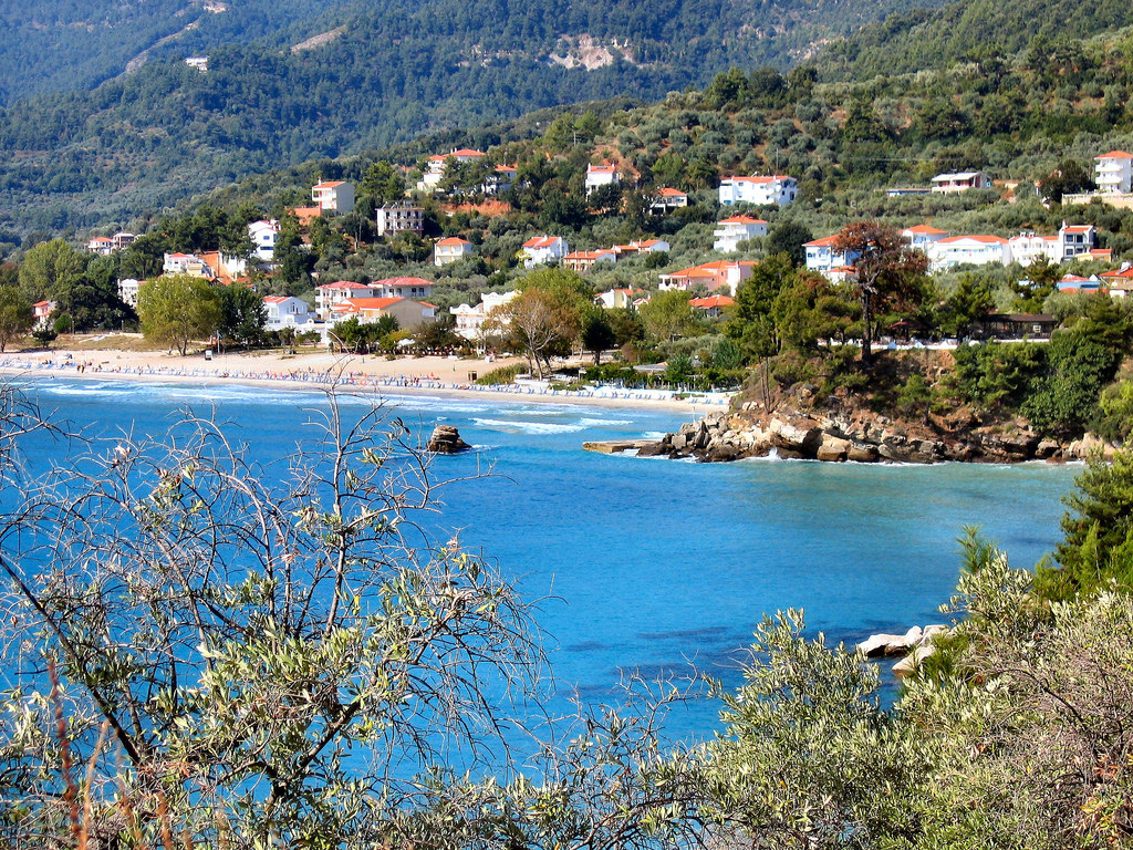 GOLDEN BEACH. THASSOS. GREECE. by ronsaunders47, on Flickr