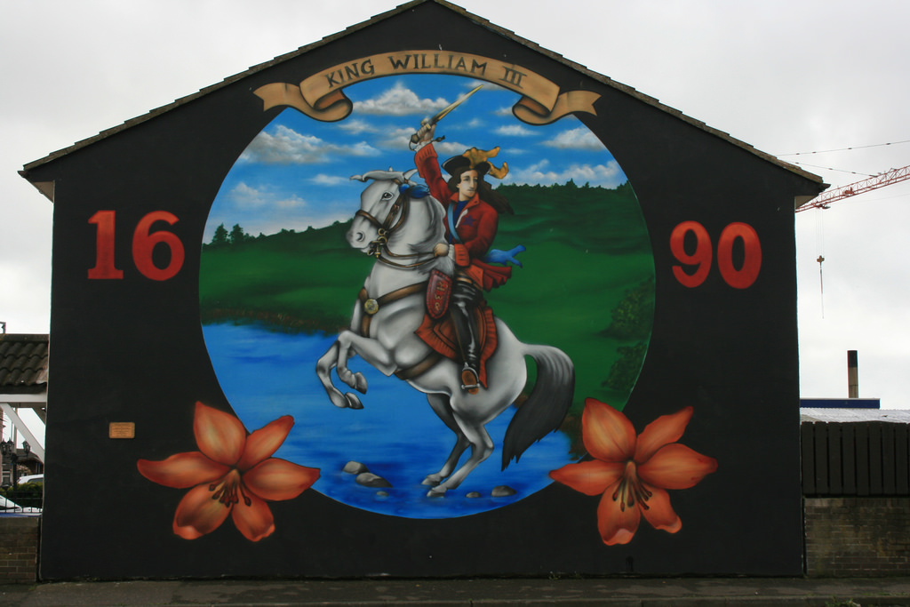 King William of Orange mural, Shankhill by Supermac1961, on Flickr