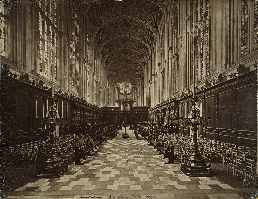 Cambridge. King's College Chapel (Interi by Cornell University Library, on Flickr