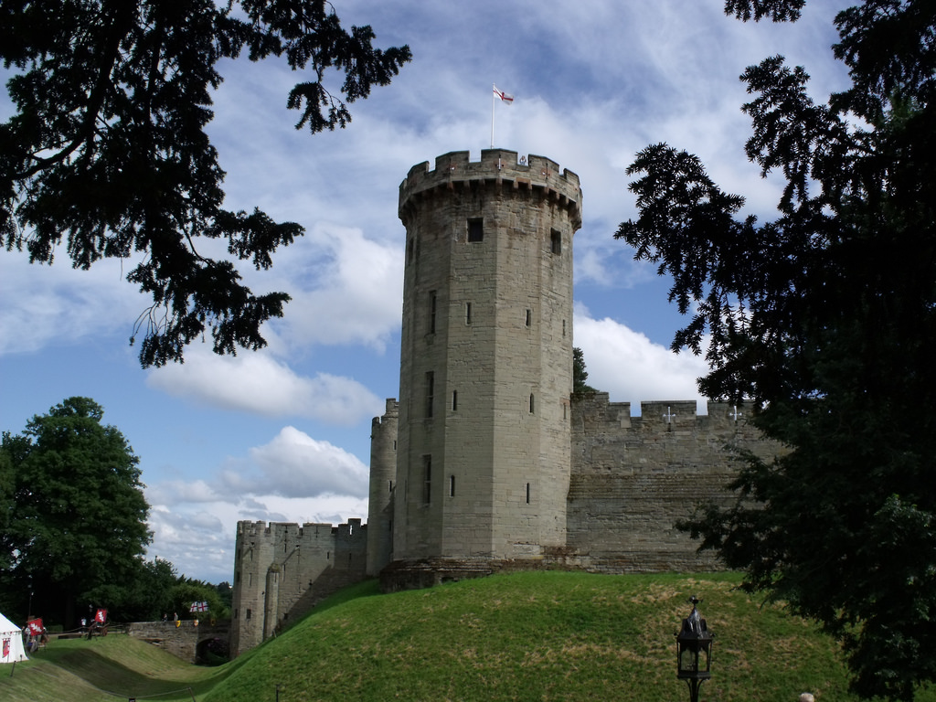 Warwick Castle, Warwick - Guy's Tower by ell brown, on Flickr