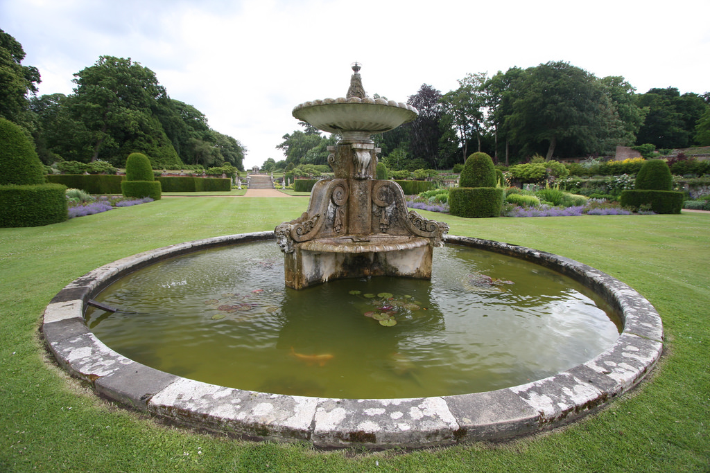 Blickling Hall 17th century fountain by exfordy, on Flickr