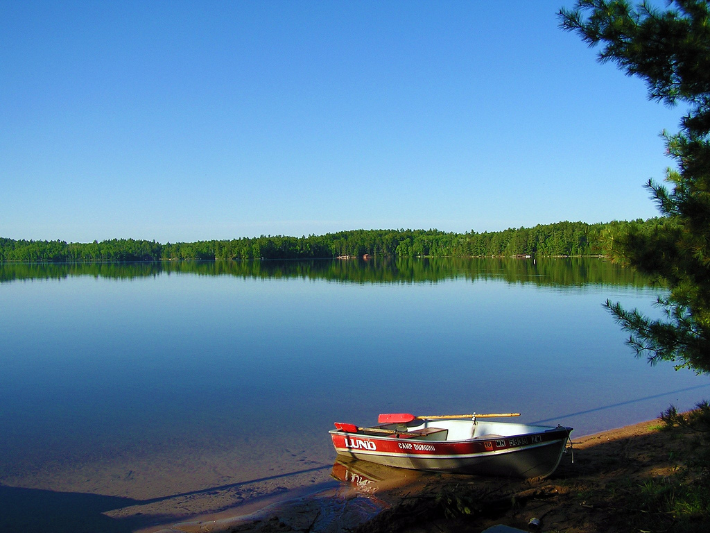 Burntside Lake, MN by Northfielder, on Flickr