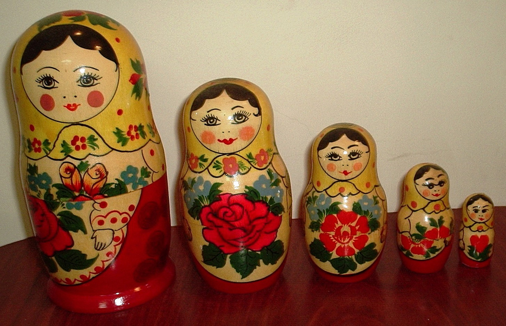 Matryoshka nesting dolls by Balaji Photography - 3,800,000 Views and Growing, on Flickr