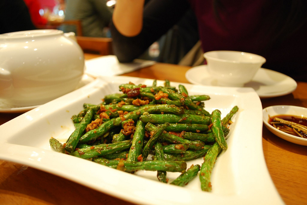 干煸四季豆 Dry fried French Beans - by avlxyz, on Flickr