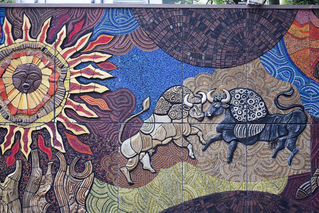 Belfast artist Desmond Kinney created th by infomatique, on Flickr