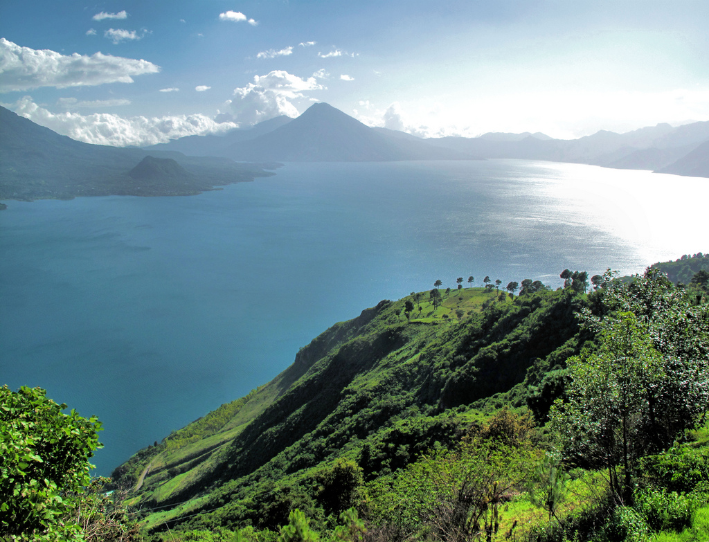 Atitlan Lake and Volcanoes by Francisco Anzola, on Flickr