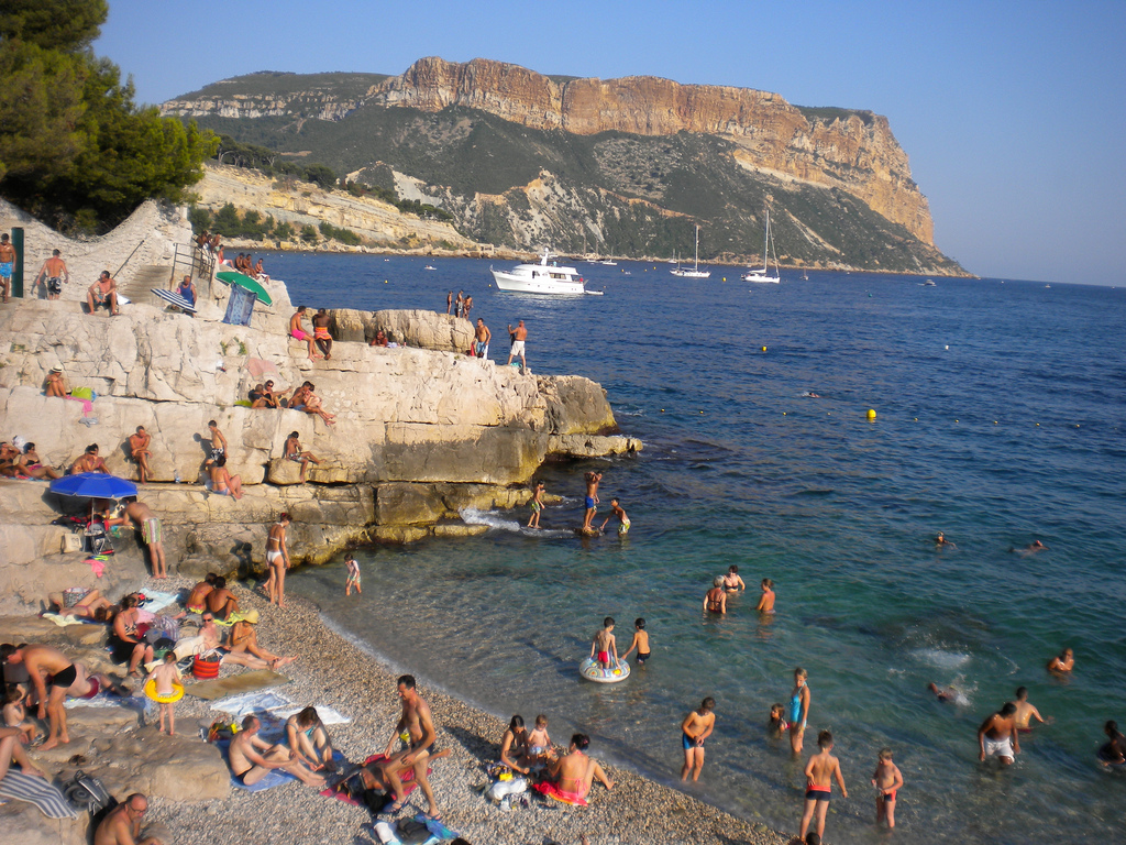 cassis, france beach by austinevan, on Flickr
