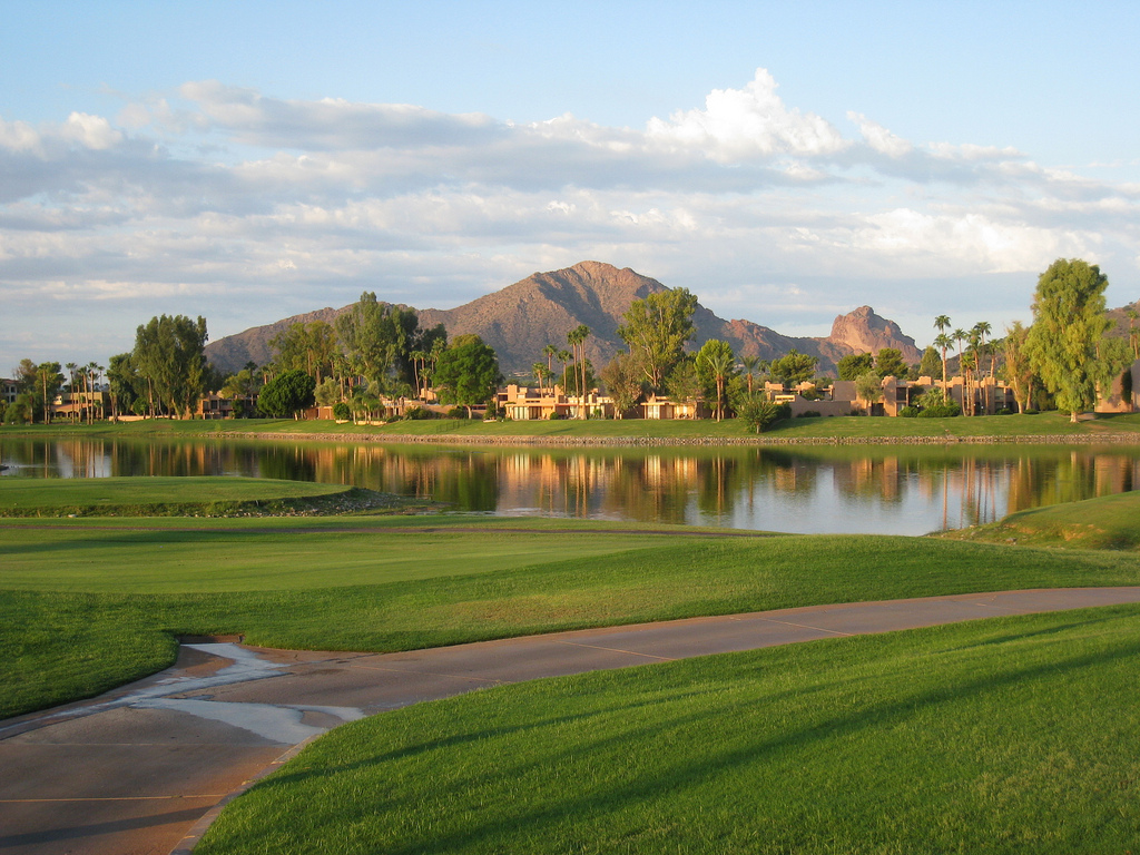 Sunday Morning at McCormick Golf Course by Dru Bloomfield - At Home in Scottsdale, on Flickr