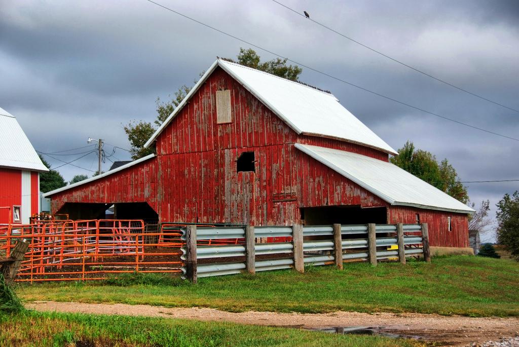 Farm Buildings by cwwycoff1, on Flickr