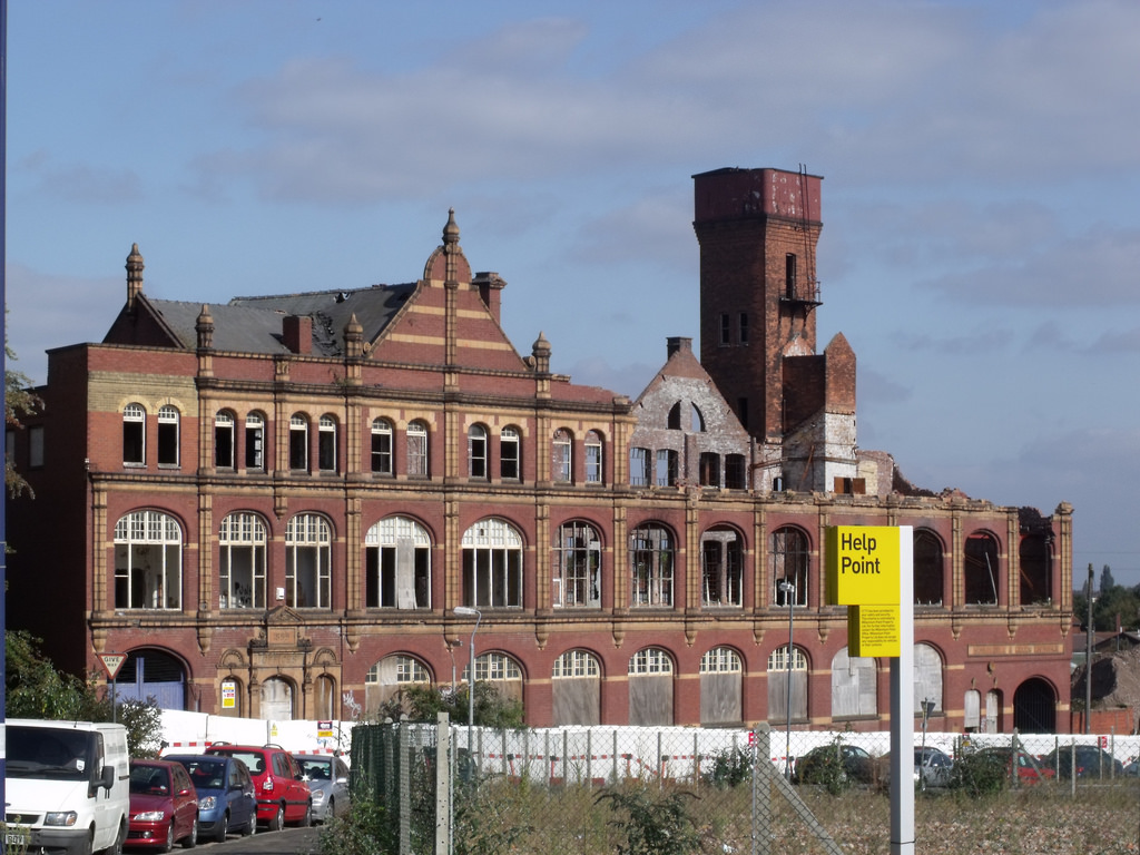 Belmont Row Works - derelict building in by ell brown, on Flickr