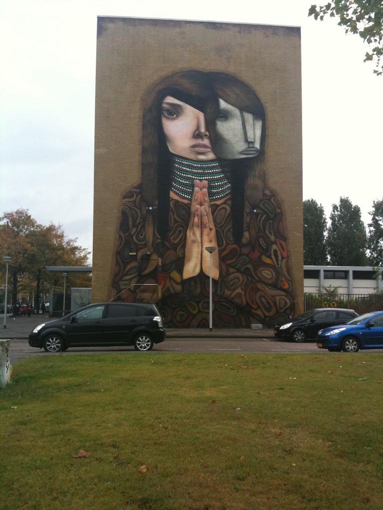 Mural, Heer Bokelweg, Rotterdam by spinster, on Flickr