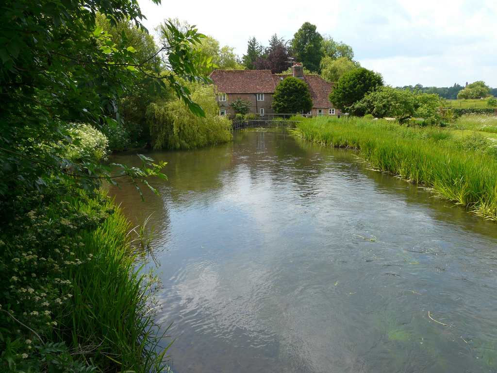 River Test, Hampshire by Mike Cattell, on Flickr