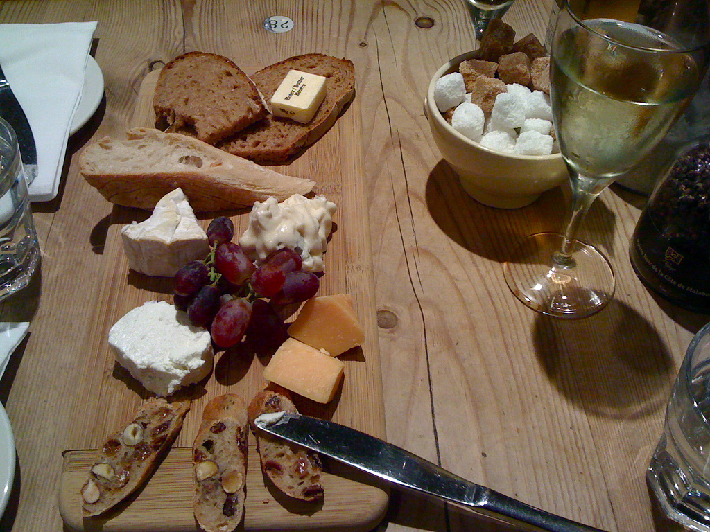 cheese board at Le Pain Quotidien by dailyfood, on Flickr
