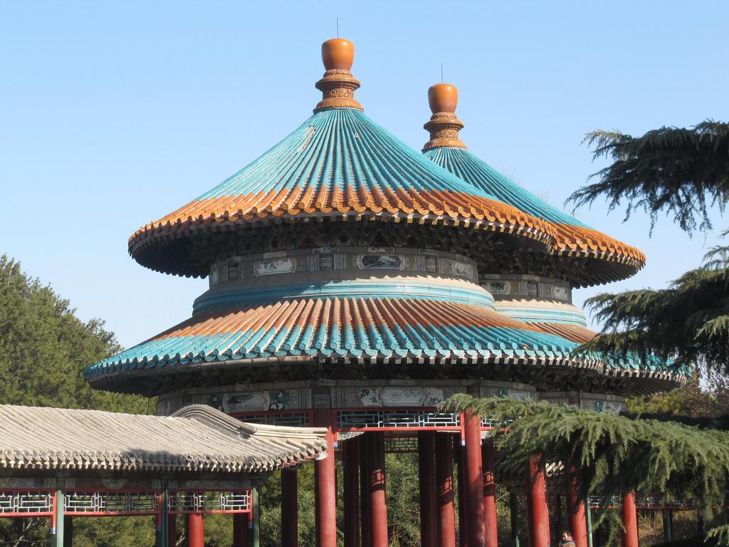 Roof of Fangshen Pavillion, Temple of He by http://klarititemplateshop.com/, on Flickr