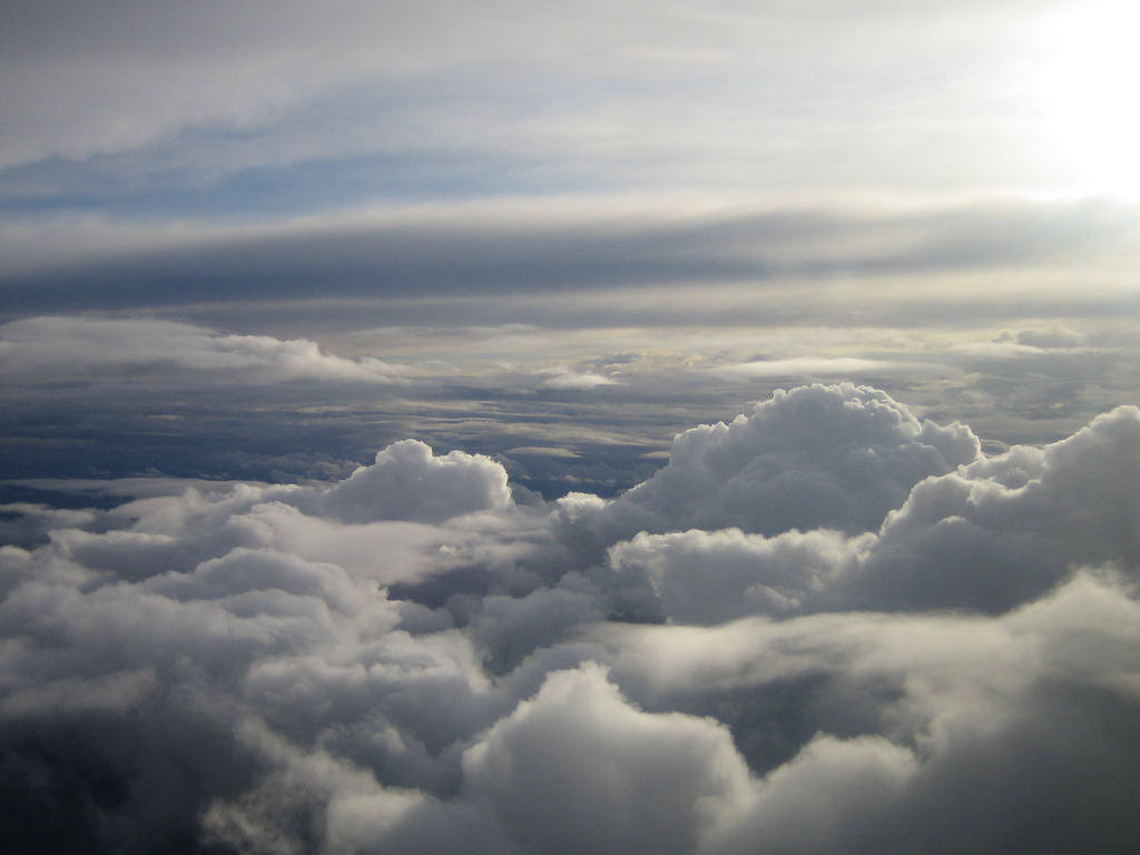 Clouds from an Airplane by Pat Guiney, on Flickr