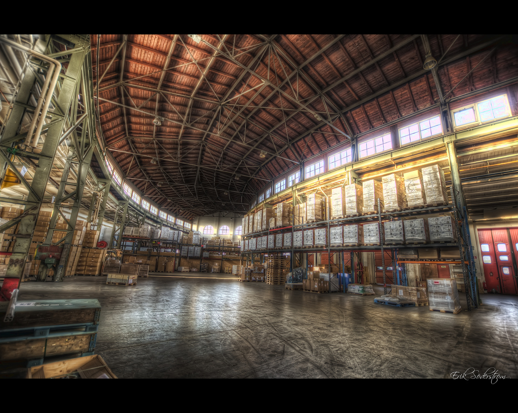 Warehouse #HDR #photog by mescon, on Flickr