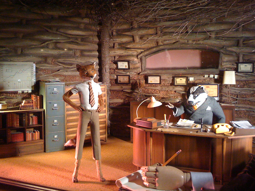 Mr. Fox at Badger, Beaver & Beaver by cphoffman42, on Flickr