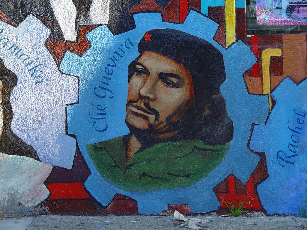 Che Guevara mural - San Francisco by Franco Folini, on Flickr