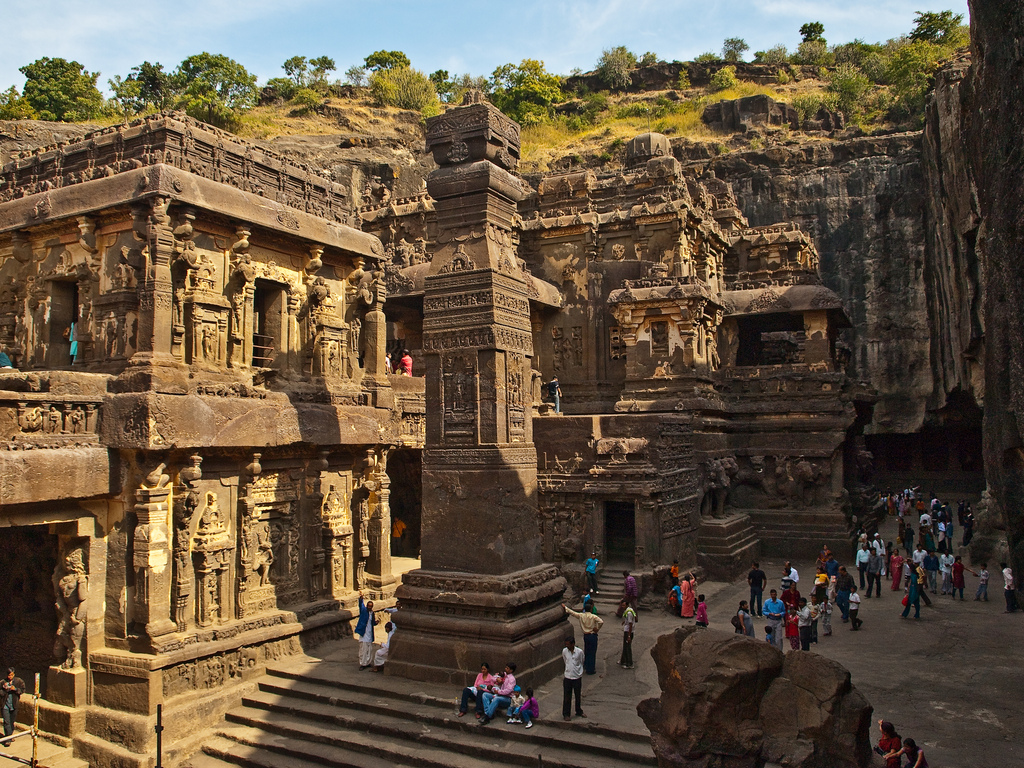 Kailash Temple, Ellora by kun0me, on Flickr