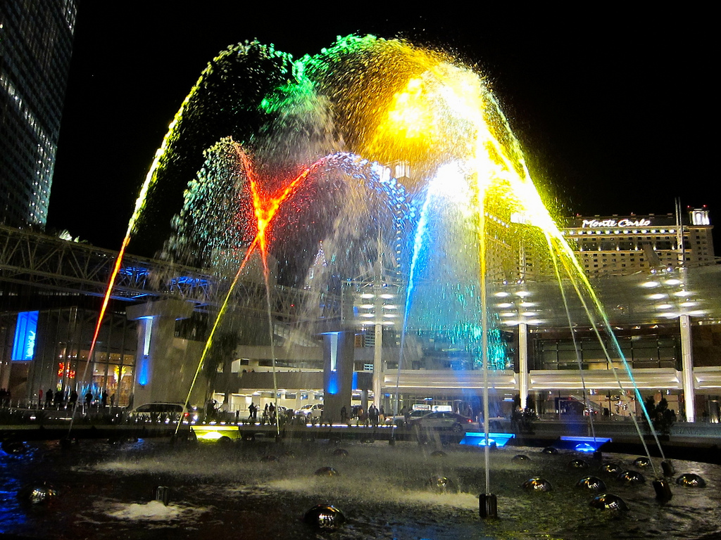 Aria Fountain by Sirsnapsalot, on Flickr