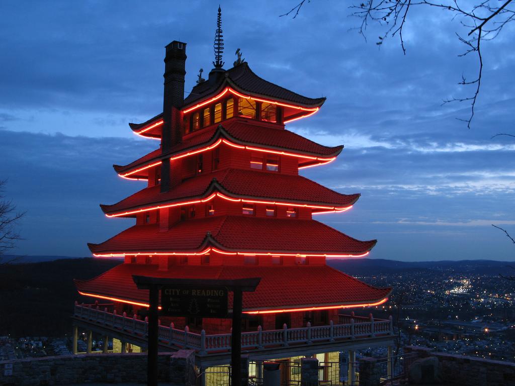 Pagoda at Sunset by RiverRatt3, on Flickr