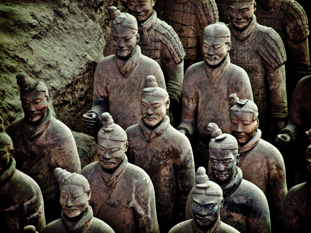 Terracotta Warrior Statues at Xian, Chin by kevinpoh, on Flickr