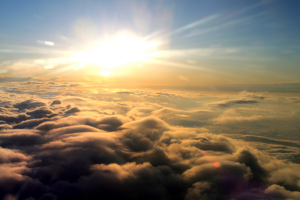 Above the clouds by DavidSpinks, on Flickr