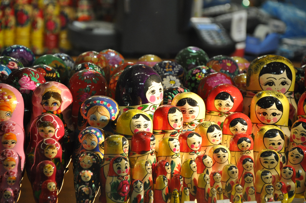 Matryoshka doll by Jorge Lascar, on Flickr