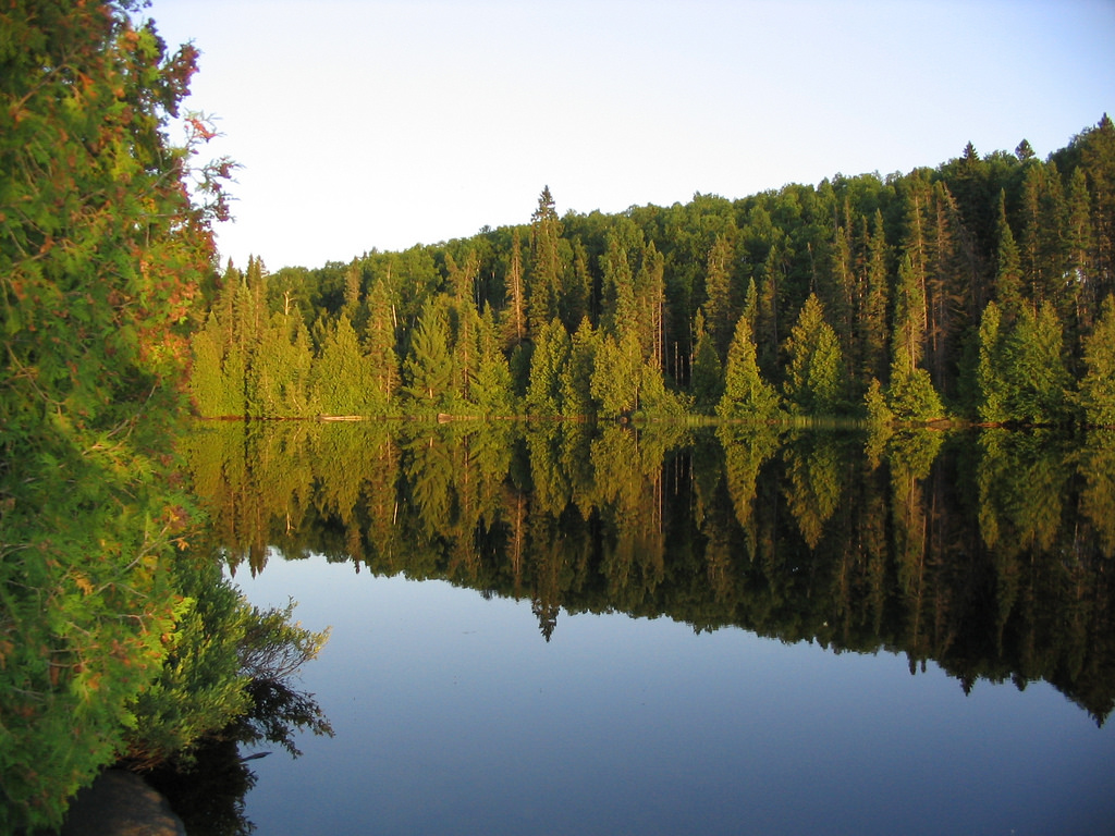 Boundary Waters Bay by Mike Sweet by U.S. Fish and Wildlife Service - Midwest Region, on Flickr