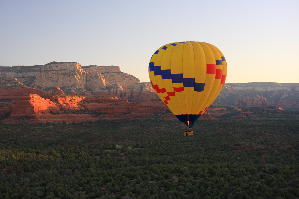 Hot Air Balloon Ride - Sedona by Thales, on Flickr