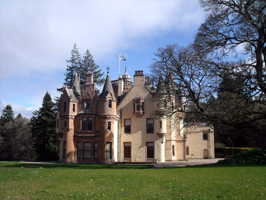 Aldourie Castle  - on the shore of Loch by conner395, on Flickr