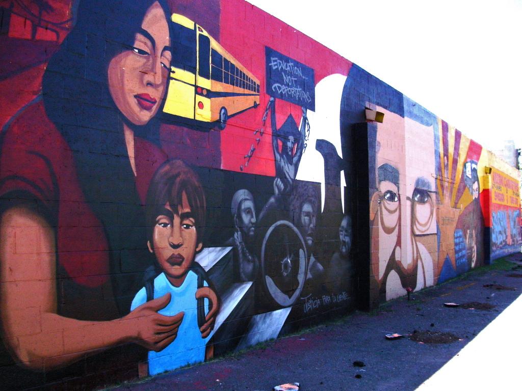 Dream Act Mural- Arizona Carburetors Emi by Ms. Phoenix, on Flickr