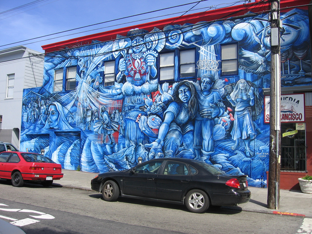 Mural at York and 24th, Mission District by patrickmccully, on Flickr