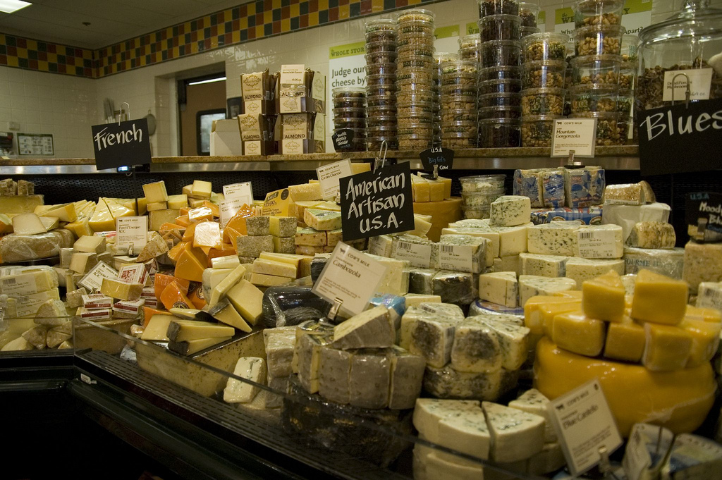 Whole Foods: Cheese by ilovebutter, on Flickr